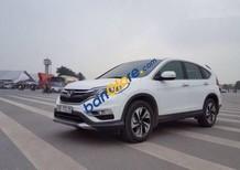 Cần bán Honda CR V 2.4 AT đời 2017, màu trắng như mới