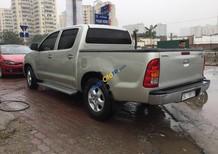 Bán Toyota Hilux 2.5E đời 2011, màu ghi vàng, xe nhập như mới, 405tr