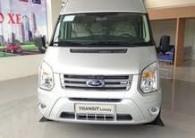 Bán xe Ford Transit bản cao cấp Luxury 2017 chính hãng khuyến mại phụ kiện.