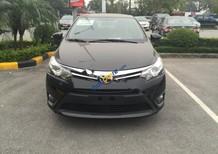 Bán xe Toyota Vios 1.5 E đời 2018, màu đen