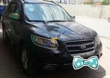 Chính chủ bán xe Hyundai Santa Fe 2.2AT đời 2009, màu đen, nhập khẩu