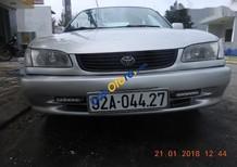Cần bán xe Toyota Corolla MT đời 2000, màu bạc chính chủ, giá chỉ 129 triệu
