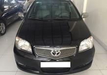 Cần bán gấp Toyota Vios G 2004, màu đen, 185tr