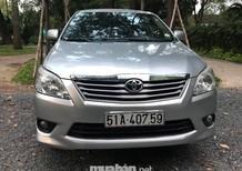 Bán xe Toyota Innova đời 2012, màu bạc, nhập khẩu chính hãng, số tự động, giá chỉ 530 triệu