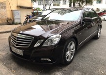 Bán ô tô Mercedes E250 CGI đời 2010, màu đen, nhập khẩu nguyên chiếc