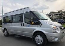 Transit ĐK 2015 màu bạc 16 chỗ. Xe nhà xài kĩ không chạy kinh doanh, dịch vụ