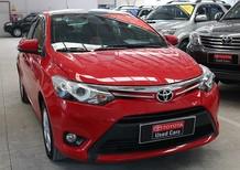 Cần bán lại xe Toyota Vios đời 2014, màu đỏ, giá chỉ 530 triệu