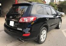 Cần bán gấp Hyundai Santa Fe đời 2011, màu đen, xe nhập số tự động