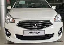 Bán Mitsubishi Attrage đời 2017, màu trắng, nhập khẩu chính hãng