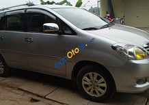 Cần bán Innova G chuẩn 2010 mầu bạc xe gia đình ít sử dụng, giá 478tr