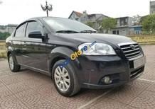 Cần bán lại xe Daewoo Gentra MT 2008, màu đen