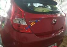 Bán gấp Hyundai Accent đời 2013, màu đỏ xe gia đình