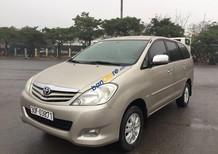 Bán xe Toyota Innova 2.0G đời 2011, màu vàng như mới, 416tr