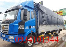 Xe tải trả góp Faw 7.8 tấn, thùng dài 9.8 mét, hỗ trợ vay ngân hàng cao, có xe giao ngay