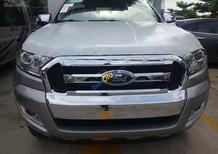 Cần bán xe Ford Ranger XLT 2.2L năm 2017, màu xám, nhập khẩu nguyên chiếc