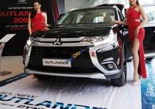 Bán ô tô Mitsubishi Outlander cvt đời 2018, màu đen, nhập khẩu nguyên chiếc