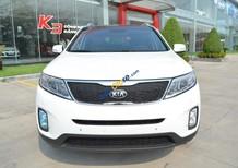 Bán ô tô Kia Sorento GAT 2018, màu trắng, giá 799tr, hỗ trợ trả góp lãi suất thấp nhất