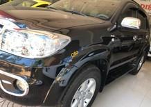 Bán xe Toyota Fortuner 2.5G đời 2011, màu đen