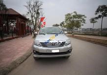 Cần bán lại xe Toyota Fortuner 2.7V 4x4 AT đời 2014, màu bạc