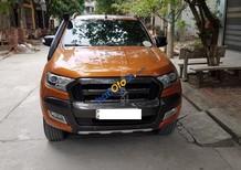 Cần bán Ford Ranger 3.2 đời 2015, màu màu cam nhập khẩu nguyên chiếc