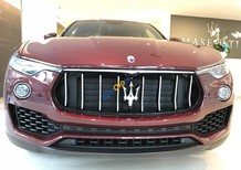 Bán xe Maserati Levante màu đỏ nhập khẩu mới 100%, bán Maserati Levante giá tốt nhất