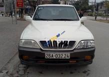 Cần bán lại xe Ssangyong Musso đời 2002, màu trắng, xe nhập, giá chỉ 155 triệu