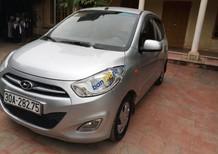 Cần bán gấp Hyundai Grand i10 1.1 MT đời 2013, màu bạc, xe nhập chính chủ
