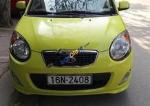 Bán Kia Morning SLX đời 2010, màu vàng, xe nhập