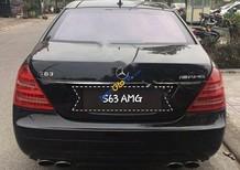 Cần bán gấp Mercedes S63 AMG đời 2007, màu đen, nhập