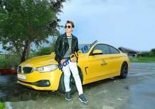 Bán xe BMW 4 Series 428i đời 2013, màu vàng, chính chủ
