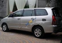 Bán Toyota Innova G đời 2008, màu bạc chính chủ, 378tr