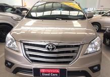 Bán Toyota Innova 2.0E 2015, màu vàng, giá 650tr