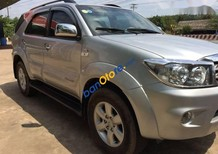 Cần bán xe Toyota Fortuner đời 2009, màu bạc