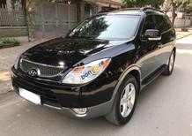 Bán xe Hyundai Veracruz 3.8 V6 đời 2008, màu đen, nhập khẩu