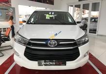 Bán Toyota Innova E đời 2018, màu trắng, hỗ trợ trả góp, khuyến mãi đến 60 triệu