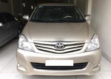 Bán ô tô Toyota Innova G 2011, màu vàng cát, giá 360tr