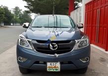 Bán Mazda BT 50 2.2L 4x4 MT đời 2016, màu xanh lam, nhập khẩu như mới