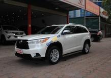 Bán Toyota Highlander LE 2.7 đời 2014, màu trắng, xe nhập