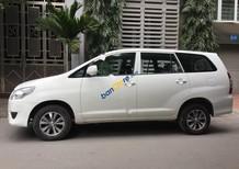 Cần bán lại xe Toyota Innova 2.0 MT đời 2016, màu trắng