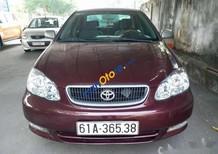 Bán Toyota Corolla altis đời 2001, màu đỏ