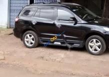 Cần bán gấp Hyundai Santa Fe 2.7 MT đời 2009, màu đen, nhập khẩu số sàn, giá tốt