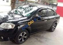 Bán Daewoo Gentra đời 2009, màu đen, giá 190tr