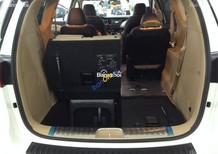 Tin hot: Kia Sedona 3.3 GATH  màu trắng, giá cực sốc, hỗ trợ vay đến 80%, LH ngay Mr. Mười 0938603059