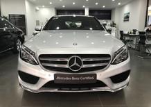 Cần bán lại xe Mercedes C300 Amg đời 2017, màu bạc, như mới