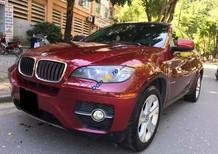 Cần bán BMW X6 2010 màu đỏ fulloption, odo 37.000km