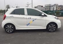 Cần bán lại xe Kia Morning 1.25 Si đời 2017, màu trắng, 408tr