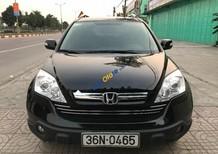 Cần bán xe Honda CR V 2.4 AT sản xuất 2009, màu đen số tự động, giá chỉ 570 triệu