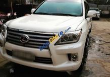 Cần bán gấp Lexus LX 570 2012, màu trắng, xe nhập chính chủ