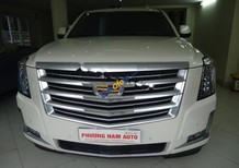 Cần bán xe Cadillac Escalade ESV Platinium đời 2016, màu trắng, nhập khẩu chính chủ