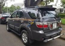 Cần bán lại xe Toyota Fortuner 2.7V 4x4 AT đời 2009, màu xám chính chủ